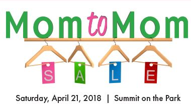 Mom to Mom Sale Graphic