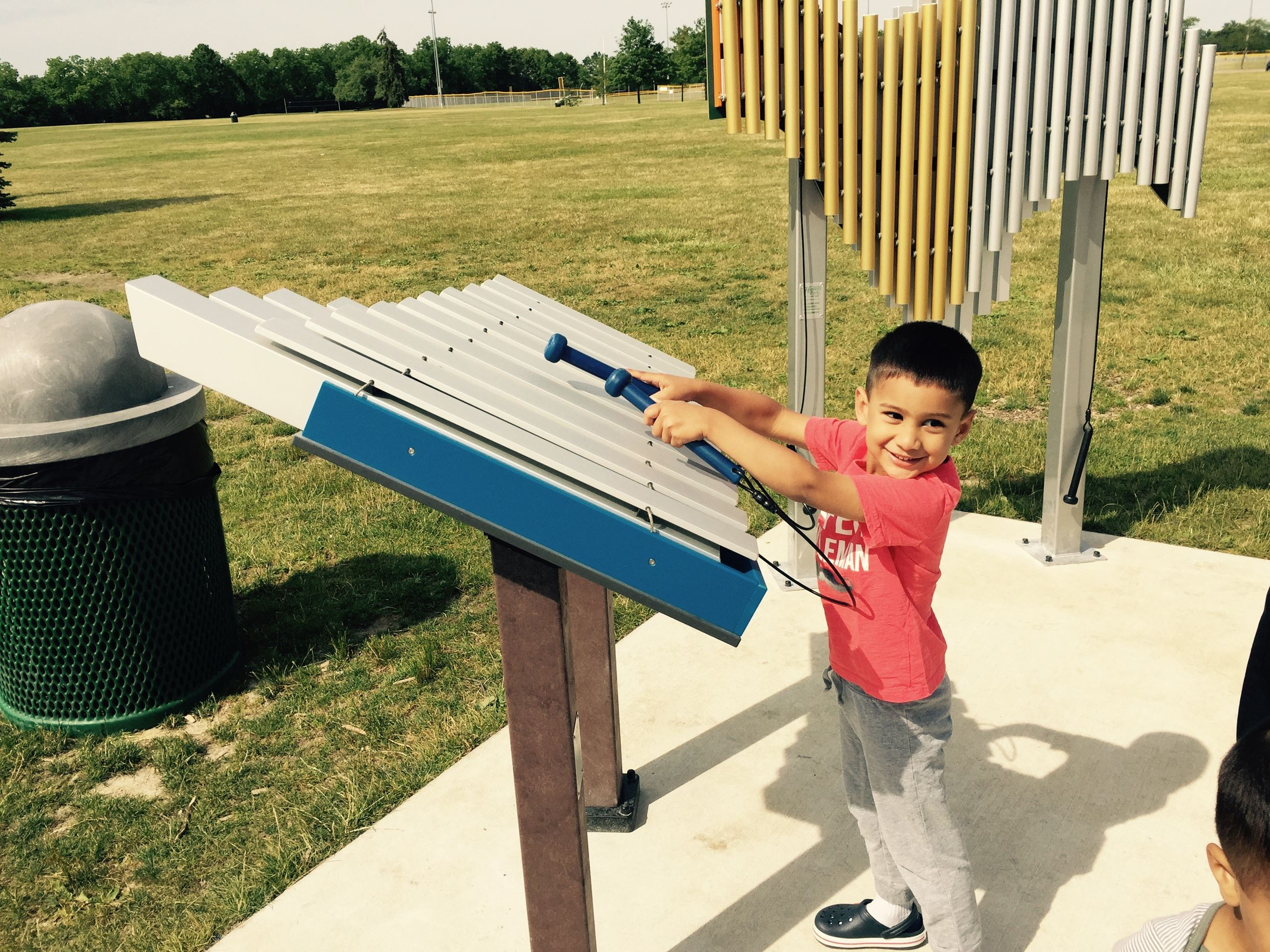 Heritage Park New Musical Playground Feature